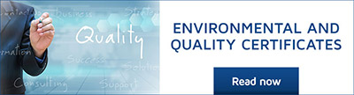 Environmental quality certificates