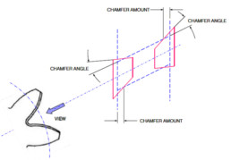 Chamfering and deburring